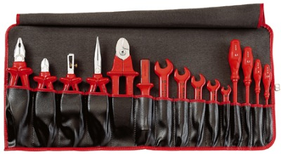 knipex rolltasche 15 teilig elektriker koffer werkzeugkoffer. Black Bedroom Furniture Sets. Home Design Ideas