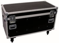 flightcase transportbox 125 x 60 cm mit rollen flightcase werkzeugkoffer. Black Bedroom Furniture Sets. Home Design Ideas
